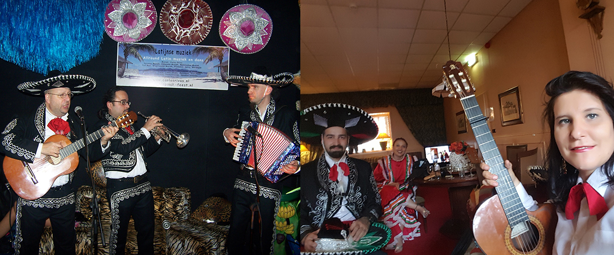 Mariachi en Mexicaanse decoratie
